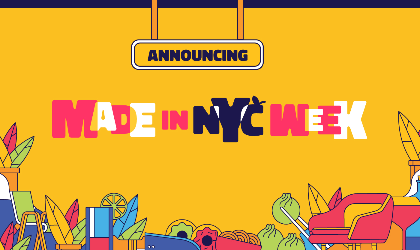 Made in NYC Week 2019 starts today!